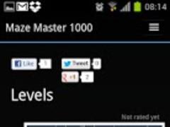 Maze Master 1000 0.9 Screenshot