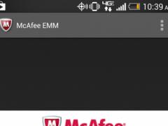 McAfee EMM 3.1.0.108 Screenshot