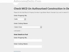 MCD UnAuthorised Construction 2.1 Screenshot