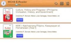 MCHS eBook Reader 2.2.1 Screenshot