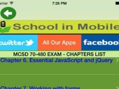 MCSD 70-480 Exam Prep Free 2.1 Screenshot