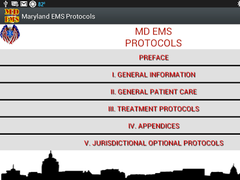 MD EMS Protocols 4.0 Screenshot