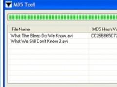 MD5 Tool 1.5 Screenshot