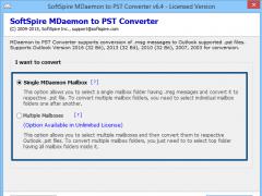 MDaemon to Outlook 6.4.6 Screenshot