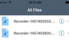 ME recorder for iTalk Recorder Premium 1.0 Screenshot