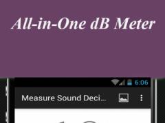 Measure Sound Decibels 1.0 Screenshot