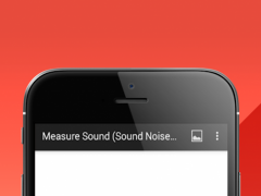 Measure Sound (Sound Noise Meter). Decibel Metre.  Screenshot