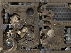 Mechanical Gears HD LWP Tabl L 1.01 Screenshot