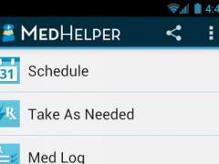 Med Helper Pill Reminder  Screenshot