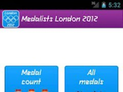 Medalists London 2012 1.0 Screenshot