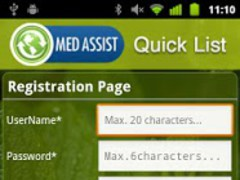 MedAssist QuickList-Meds,Pills 2.3 Screenshot