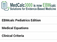 EBMcalcPediatrics 16.4.0 Screenshot