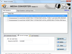 Media Converter Convert media file to any formate 1.1 Screenshot