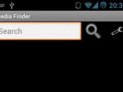 Media Finder 1.0 Screenshot