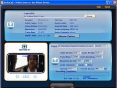 MediaCell iPhone Video Converter 2.0 Screenshot