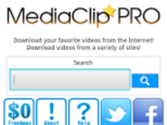 MediaClip PRO:Video Downloader 1.0.2 Screenshot