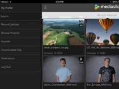 MediaSilo for iPad 2.8.1 Screenshot