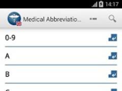 MAG Medical Abbreviations  Screenshot