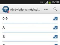 MAG Medical Abbreviations FR 2.1.9 Screenshot