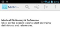Medical Dictionary & Reference 1.1 Screenshot