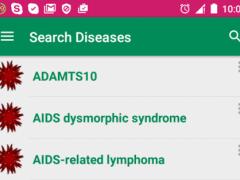 Medical Disease Dictionary 2.4.0 Screenshot