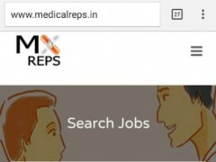 Medical Rep Jobs 1.3 Screenshot