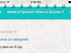 Medical Spanish: 5900 Terms, Phrases, Dialogues & Quizzes 1.0 Screenshot