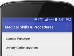 Medical & Surgical Procedures 1.4 Screenshot