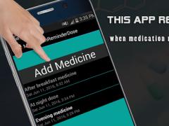 Medication Reminder-Dose 1.5 Screenshot