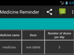 medicine - pills time reminder 3.0.1 Screenshot