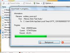 Bluetooth File Transfer 1.2.1.1 Screenshot