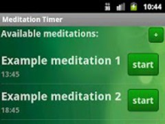 Meditation Timer (free)  Screenshot