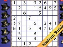 Medium New Years Sudoku 1.0 Screenshot