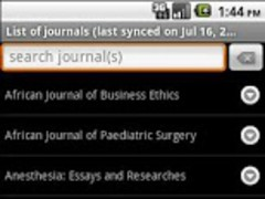 Medknow Journals 5 Screenshot