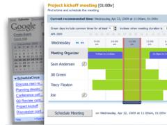 Meeting Scheduler for Google Calendar 1.2 Screenshot