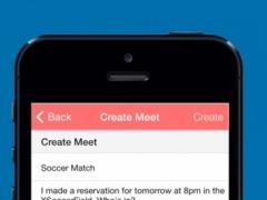 Meetnow Social Meetings 1.0 Screenshot