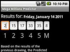 Mega Millions Predictor 1.0.5 Screenshot