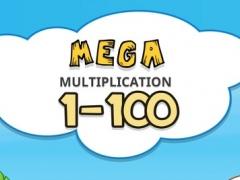 MEGA Multiplication 1-100 2.1 Screenshot