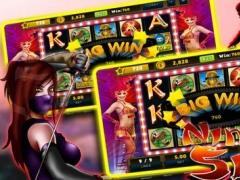 Mega Slots Games 777 Treasure Ninja Of Ocean: Free Games HD ! 1.0 Screenshot