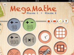MegaMath   The extensive Calculation-App for Grade 1 and 2 1.3 Screenshot