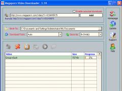 Megaporn Video Downloader 3.23 Screenshot