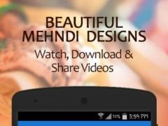 Mehndi design Videos 1.8 Screenshot