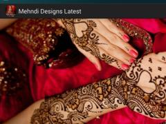 Mehndi Designs Latest 1.0 Screenshot