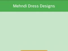 Mehndi Dress Designs 2016 1.0 Screenshot