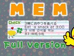 Memo pad Widget CHICK Full 1.0.0 Screenshot