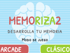 MEMORIZA2 - Memory Game 3.6.4 Screenshot