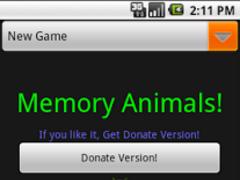 Memory Animals 1.0 Screenshot