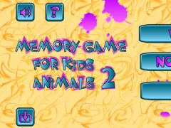 Memory Game for Kids:Animals 2 1.5 Screenshot
