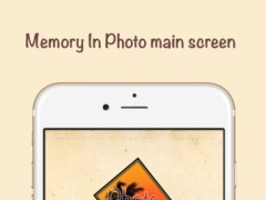 Memory In Photo - a free image editor to design and share memorial photos 1.4 Screenshot