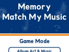 Memory - Match My Music (use your iTunes library) 1.0 Screenshot